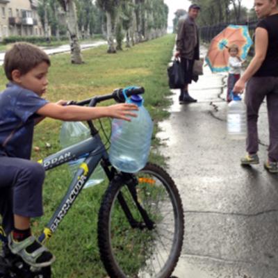 Из-за обострения на Донбассе без воды могут остаться 750 тысяч детей - ЮНИСЕФ