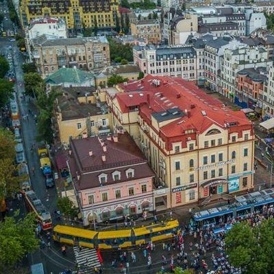 В Киеве прошел парад необычных трамваев: яркие фото