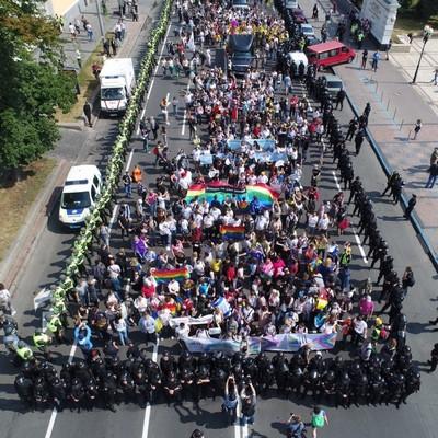 Полиция отпустила 5 задержанных на ЛГБТ-марше в Киеве