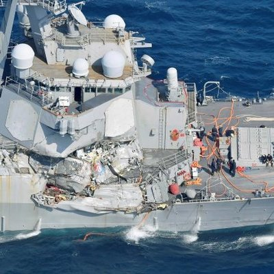 Все семь пропавших матросов с американского корабля Fitzgerald мертвы