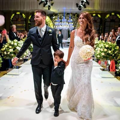 Месси и Антонелла Рокуццо разорвали танцпол на своей свадьбе - в сеть попало драйвовое видео