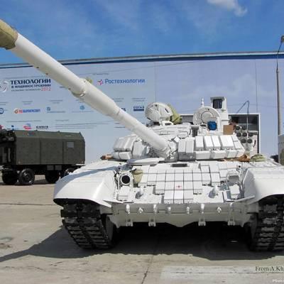 Под Авдеевкой уничтожен российский танк «Белый орел»