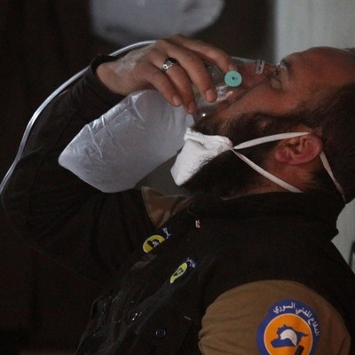 Асад на востоке Дамаска применил хлористый газ