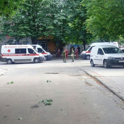 В центре Луганска прогремел взрыв