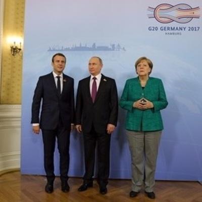 Путин обсудил с Меркель и Макроном ситуацию в Украине на саммите «Большой двадцатки»