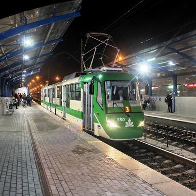 В Киеве маршрут скоростного трамвая продолжат до центра