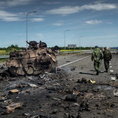 Боевики заявили, что «мэр» оккупированной Горловки попал под обстрел