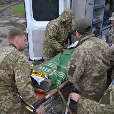 Раненный боевиками военный умер в больнице – штаб АТО