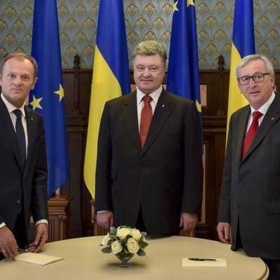 19-й саммит Украина — ЕС: Порошенко принимает в Киеве представителей Европейского Союза