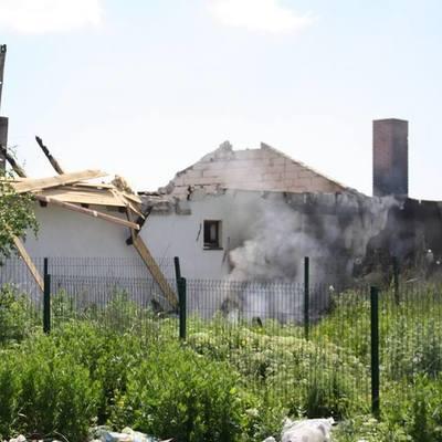 Боевики обстреляли жилые кварталы Золотого из запрещенного оружия