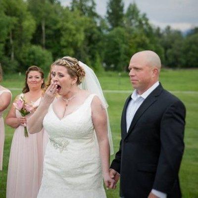 Невеста на своей свадьбе услышала сердцебиение умершего сына
