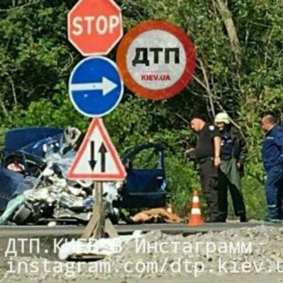 Девушка за рулем на трассе не пропустила автобус и разбилась насмерть (фото)
