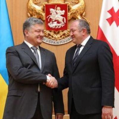 В Грузии Порошенко подписал декларацию стратегического партнерства
