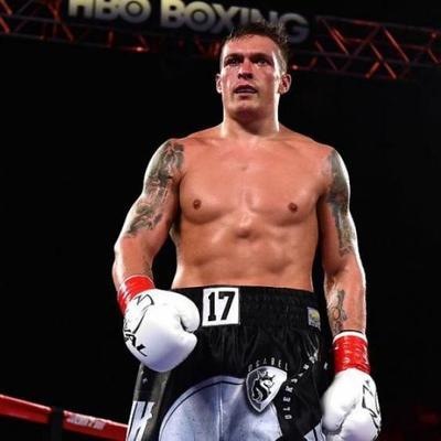 Усик признан лучшим боксером мира среди тяжеловесов