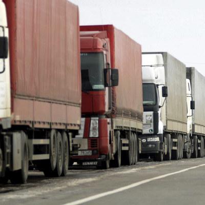 В Киев не пустят крупногабаритный транспорт