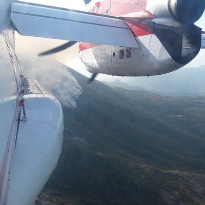 Лесные пожары в Черногории: Украинские спасатели четвертый день помогают побороть огонь (Фото, видео)