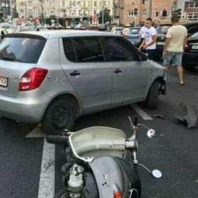 В Киеве хотели «добить» выжившего в ДТП парня