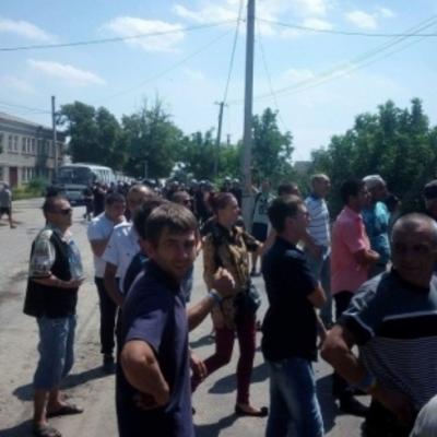На Одесчине активисты забросали суд коктейлями Молотова