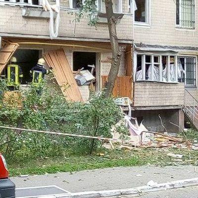 Взрыв дома в Киеве: Есть риск обвала квартиры на втором этаже