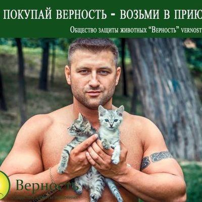 Оголенные мужчины снялись в волонтерском фотопроекте с котиками и песиками