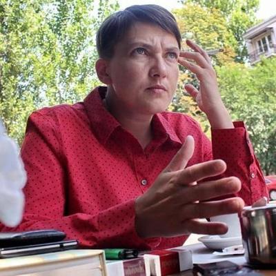 Савченко рассказала, что собирается делать после завершения депутатских полномочий