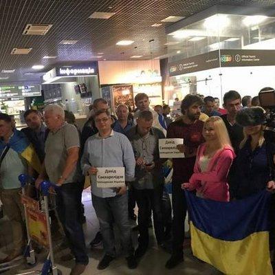 Сакварелидзе вернулся в Украину и готов к лишению украинского гражданства
