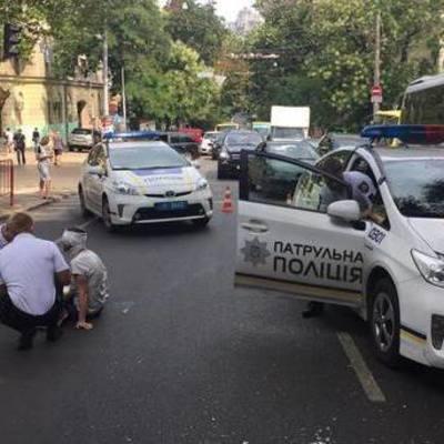 В Одессе патрульные сбили пешехода (фото)
