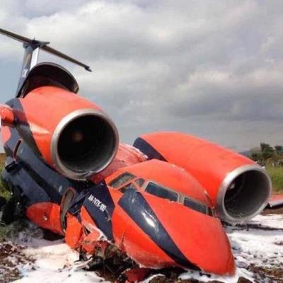 В Африке рухнул украинский самолет (фото)