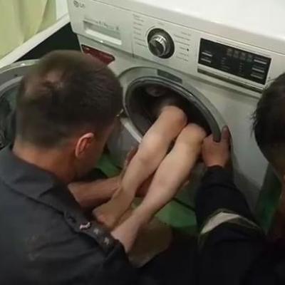 В Харькове 7-летний мальчик застрял в стиральной машинке