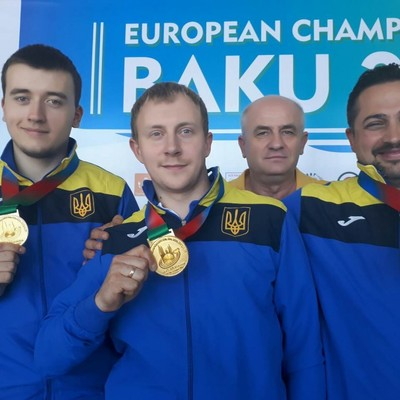 Сборная Украины стала чемпионом Европы по пулевой стрельбе