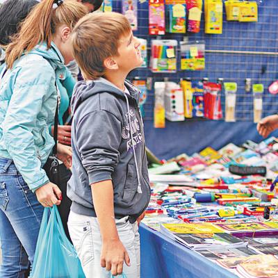 C 1 августа по 10 сентября в Киеве пройдут школьные ярмарки, - КГГА