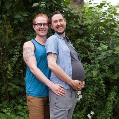 В трансгендера и его мужа родился здоровый ребенок (фото)