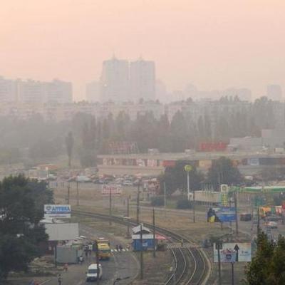 В Киеве из-за жары уровень загрязнения воздуха превысил норму в несколько раз