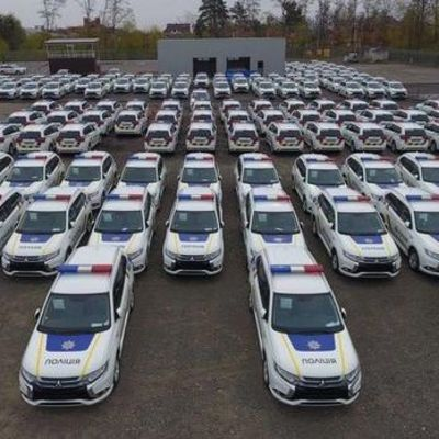 C начала года патрульные полицейские разбили 461 служебное авто