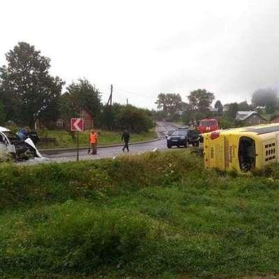 В Карпатах перевернулся автобус с туристами, есть погибшие