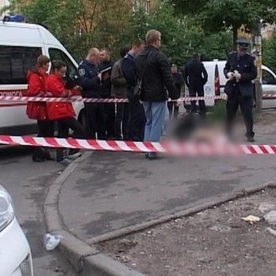 В центре Киева обнаружили мертвого человека