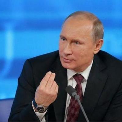 Путин приехал на оккупированные территории