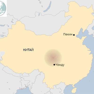 Мощное землетрясение произошло в Китае, погибли туристы
