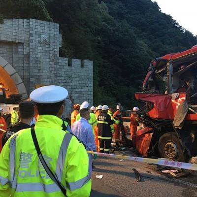 В Китае в результате ДТП погибли 36 человек (фото)