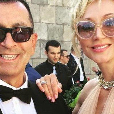 Кристина Орбакайте на свадьбе сына в платье за 120 тысяч гривен