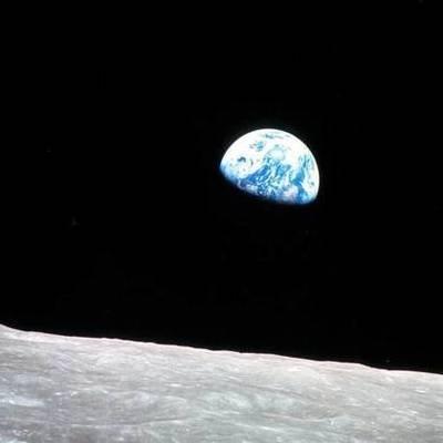 NASA показало первое фото Земли с Луны 50-летней давности