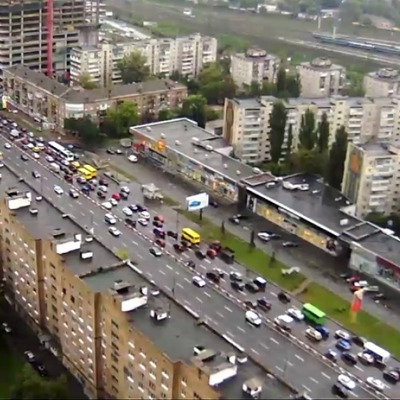 Киевские водители «выросли» в глазах всех украинцев (фото)
