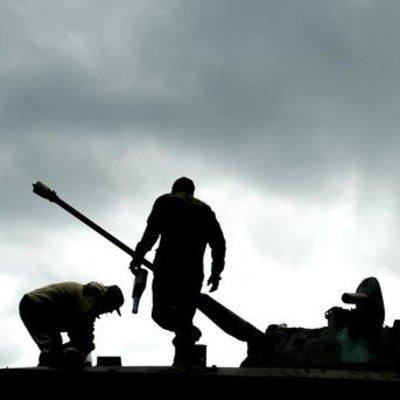 На Донбассе боевики сожгли дома мирных жителей