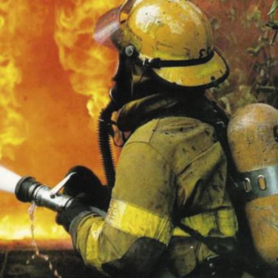На Донетчине пожарные не могли ликвидировать возгорание из-за артобстрела боевиков