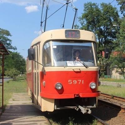 В Киеве трамвай изменил маршрут (фото)