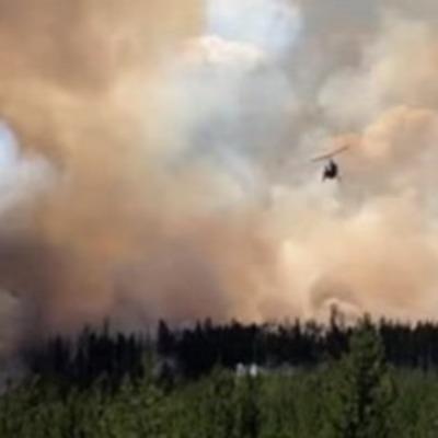 Масштабный пожар в Канаде охватил более 460 га