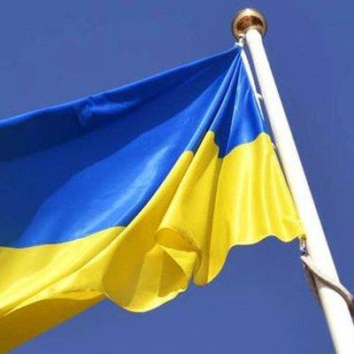 Как флаг Украины в других странах поднимали