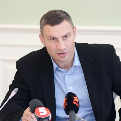 Виталий Кличко: «Уже уволено более 50 парковщиков, которые требовали у водителей деньги»