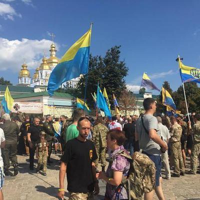 Трагедия под Иловайском: в Киеве почтили память погибших героев (видео)