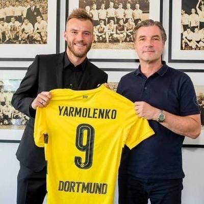 Ярмоленко официально стал игроком Боруссии Д